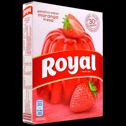 Gelatina maduixa Royal