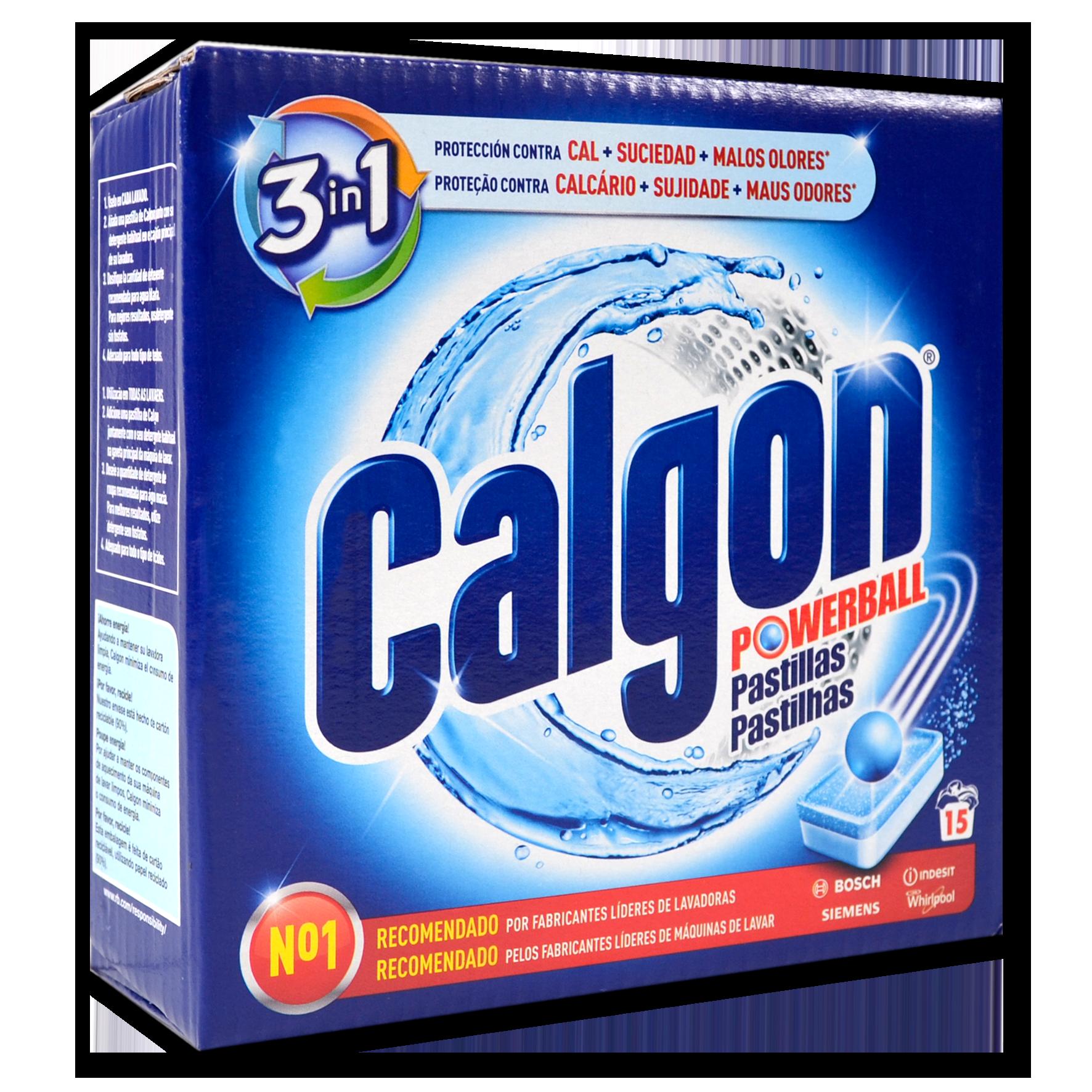 Anticalç Calgon pastilles 15 u.