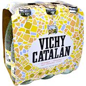 Aigua amb gas Vichy Catalan paq. 6 u. x 25 cl