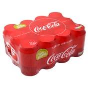 Coca Cola normal lata paq. de 12 latas