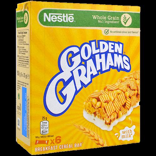 Barretes golden grahams Nestlé 6 u.