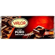Chocolate puro Valor