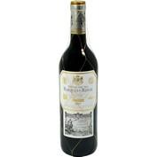 Vi negre reserva Marqués de Riscal DO Rioja