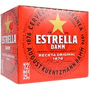 Cervesa estrella Damm paq. 12 u. x 25 cl