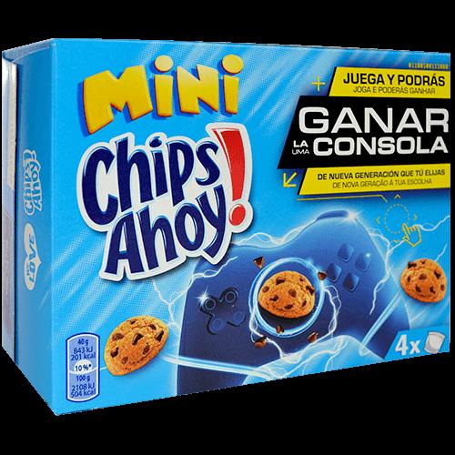 Galetes mini Chips Ahoy Artiach xocolata