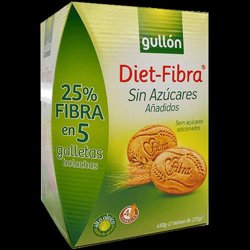 Galetes diet - fibre Gullón s/colesterol s/sucre
