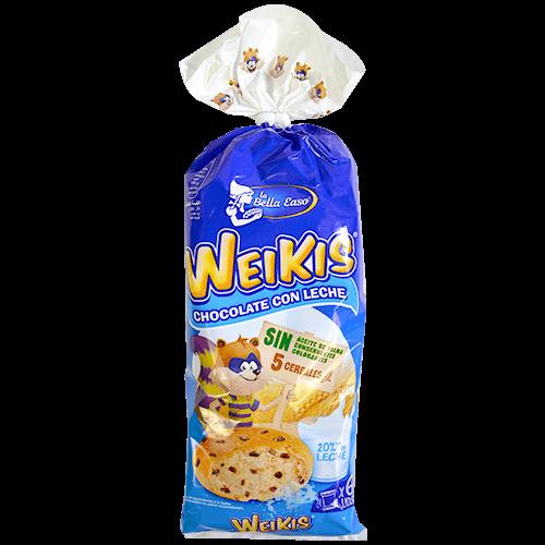 Brioix Weikis xocolata amb llet La Bella Easo paq. de 6 u.