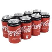 Coca Cola Zero paq. de 8 latas