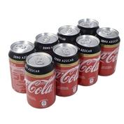 Coca Cola Zero sin cafeína paq. de 8 latas