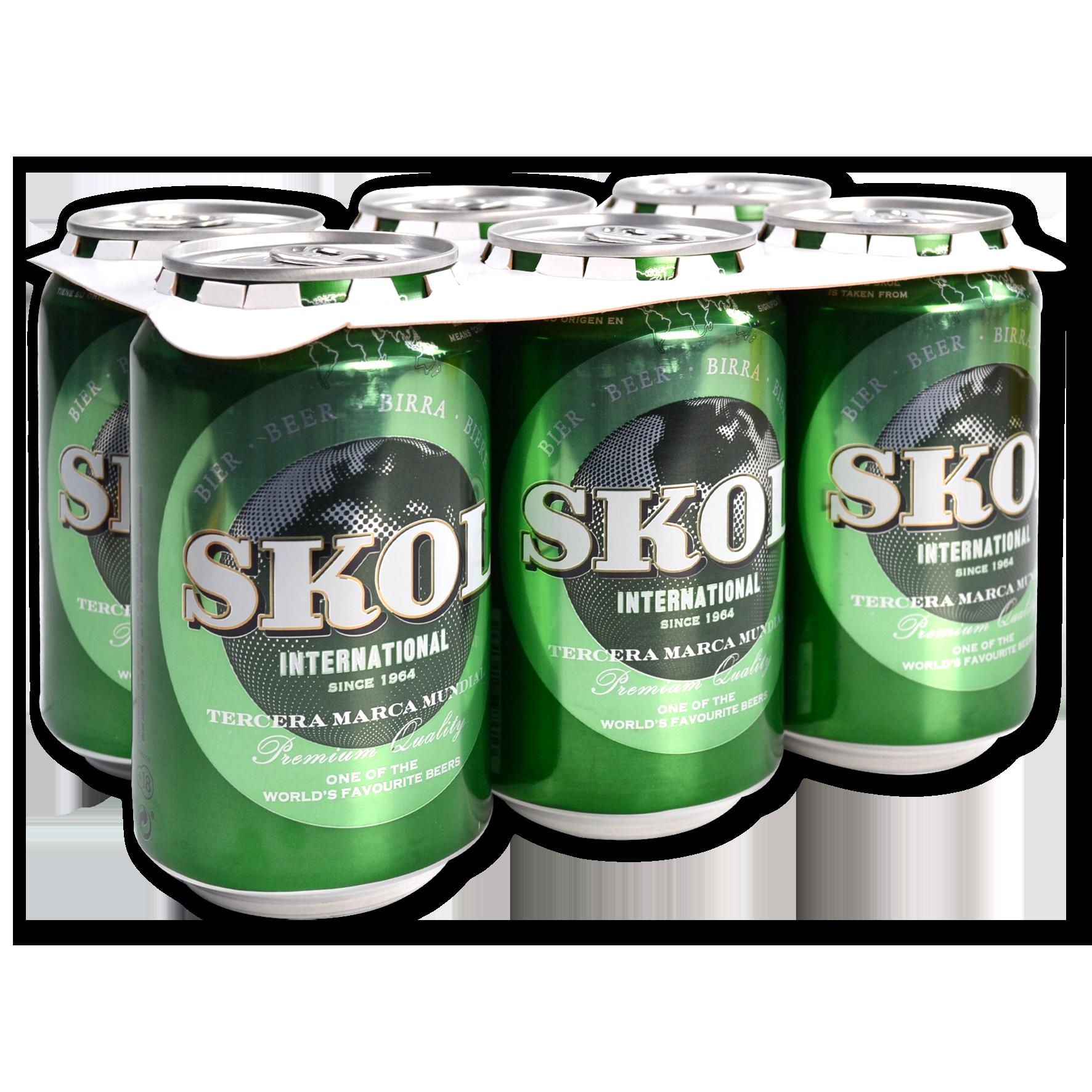 Cervesa Skol Paq. 6 llaunes
