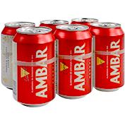 Cervesa Ambar paq. de 6 llaunes