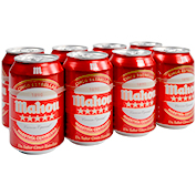 Cervesa cinc estrelles Mahou paq. de 8 llaunes