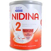 Leche continuación Nestlé nidina 2