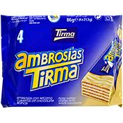 Ambrosia xocolata blanca Tirma paq. 4