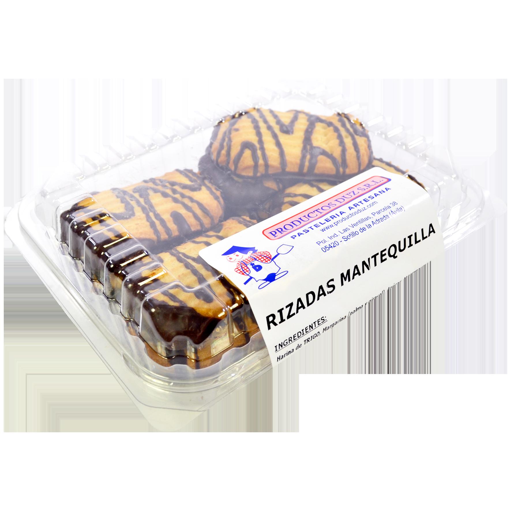 Pastes Productos duz rinxolades mantega