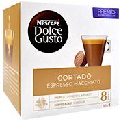 Càpsula de cafè espresso Nescafé Dolce Gusto tallat