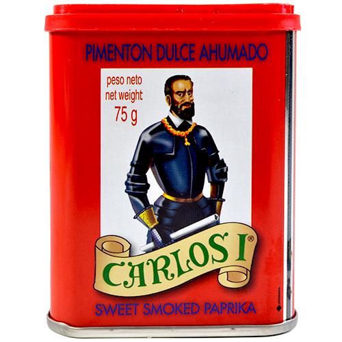 Pebre fumat dolç Carlos I llauna