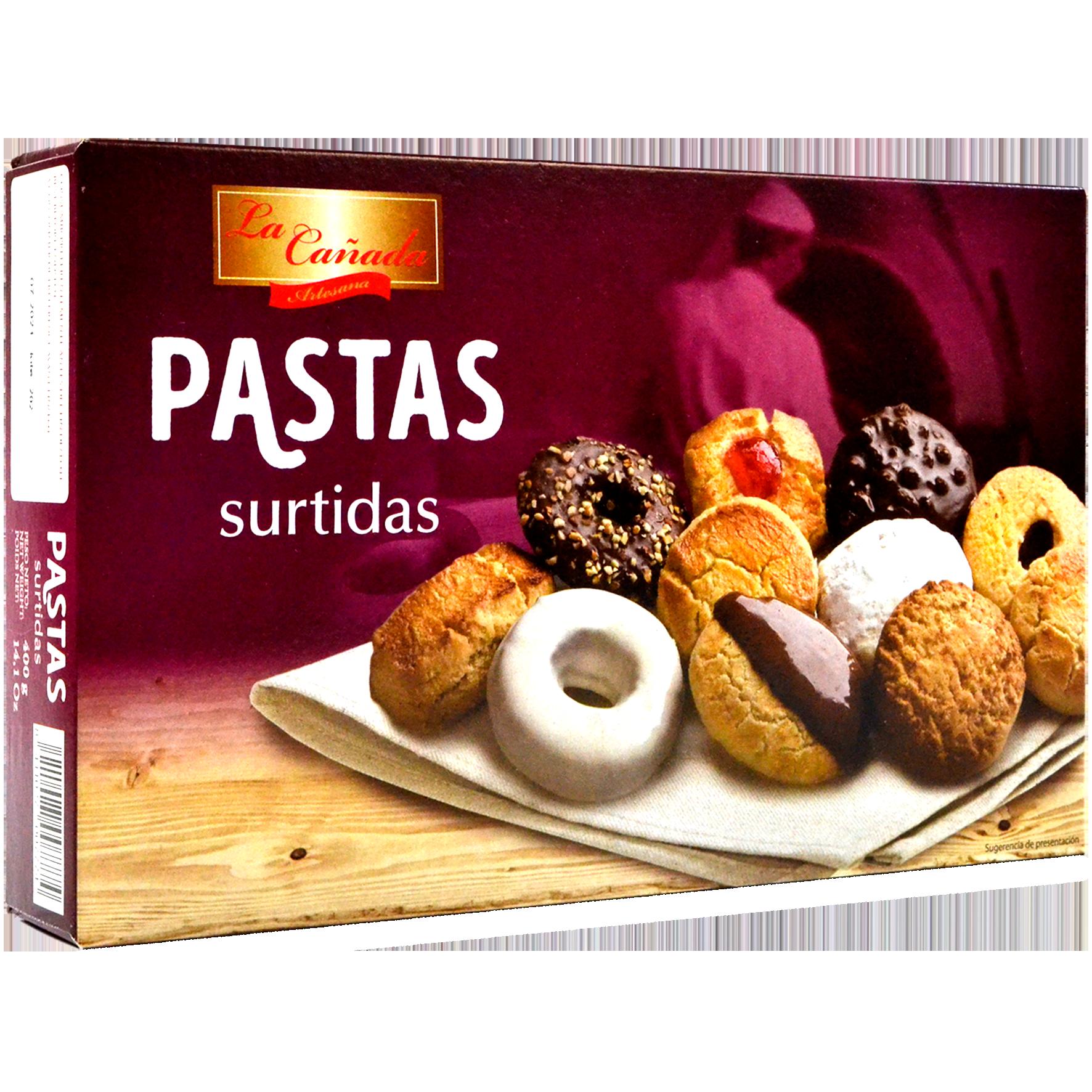 Pastes assortides La Cañada estoig