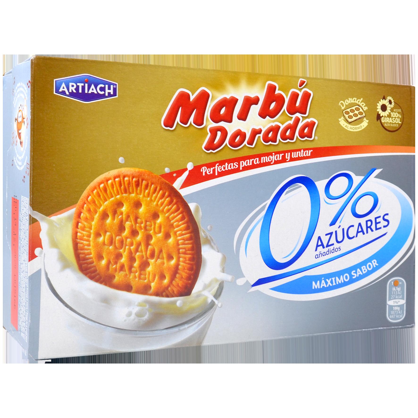 Galetes Marbú 0% sucres