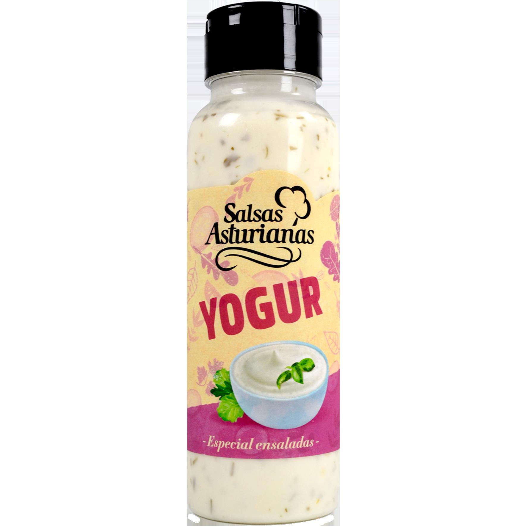 Salsa de iogurt Salsas Asturianas pot