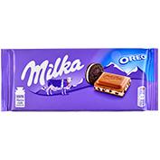 Xocolata amb llet Milka amb oreo