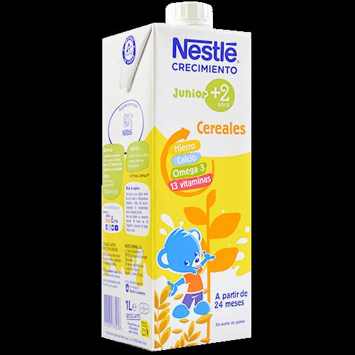 Llet continuació Nestlé creixement 2+bric