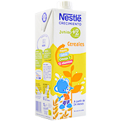 Leche continuación Nestlé crecimiento 2+brick