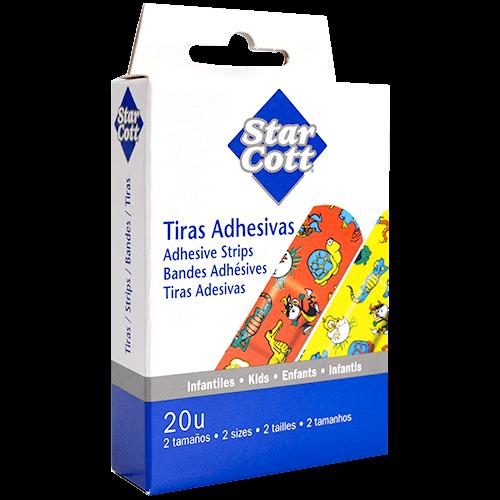 Tires adhesives infantils Star Cott 2 mides