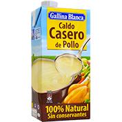 Brou casolà pollastre Gallina Blanca 100% natural bric