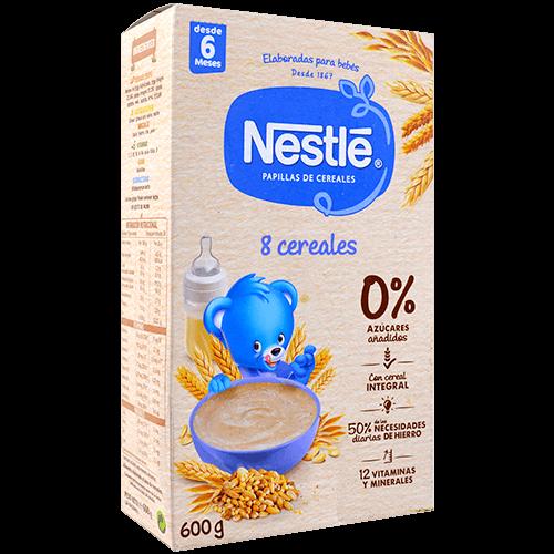 Farinetes Nestlé 8 cereals amb bífidus