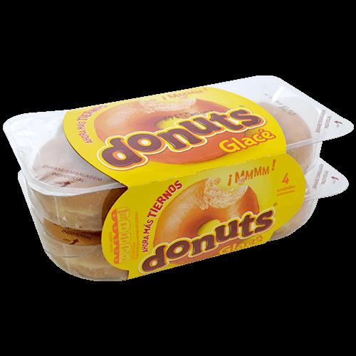 Rosca glacé Donuts paq. 4 u.