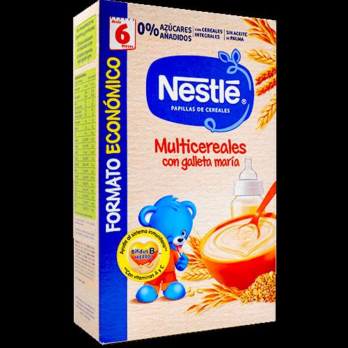 Farinetes multicereals Nestlé amb galeta Maria