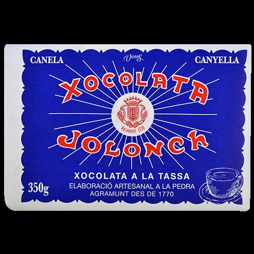 Xocolata a la pedra Jolonch 30% cacau