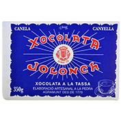 Chocolate a la piedra Jolonch 30% cacao