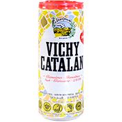 Aigua amb gas Vichy genuïna llauna