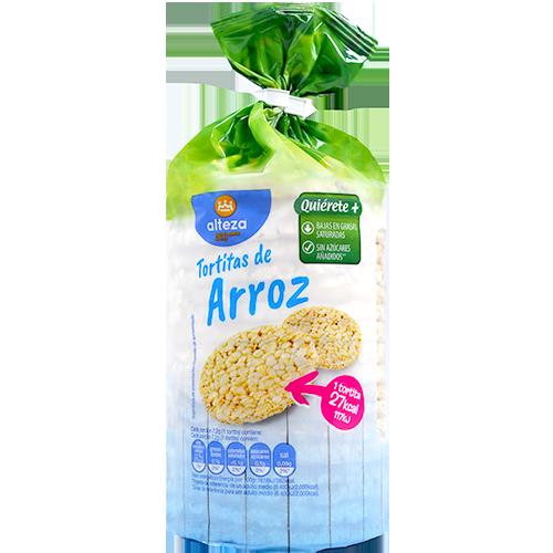 Coquetes d'arròs amb sal Alteza