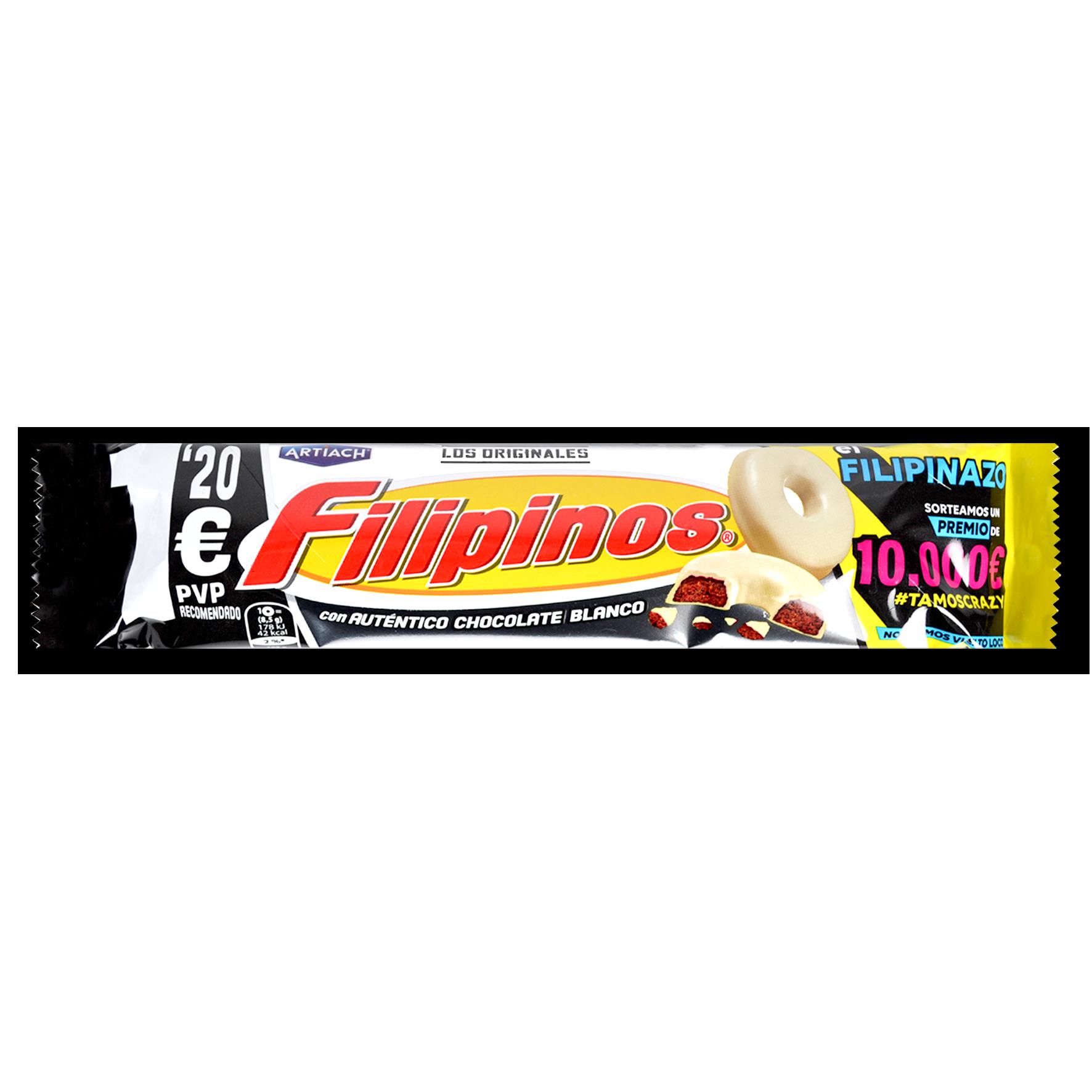 Galetes amb xocolata blanca Artiach filipinos
