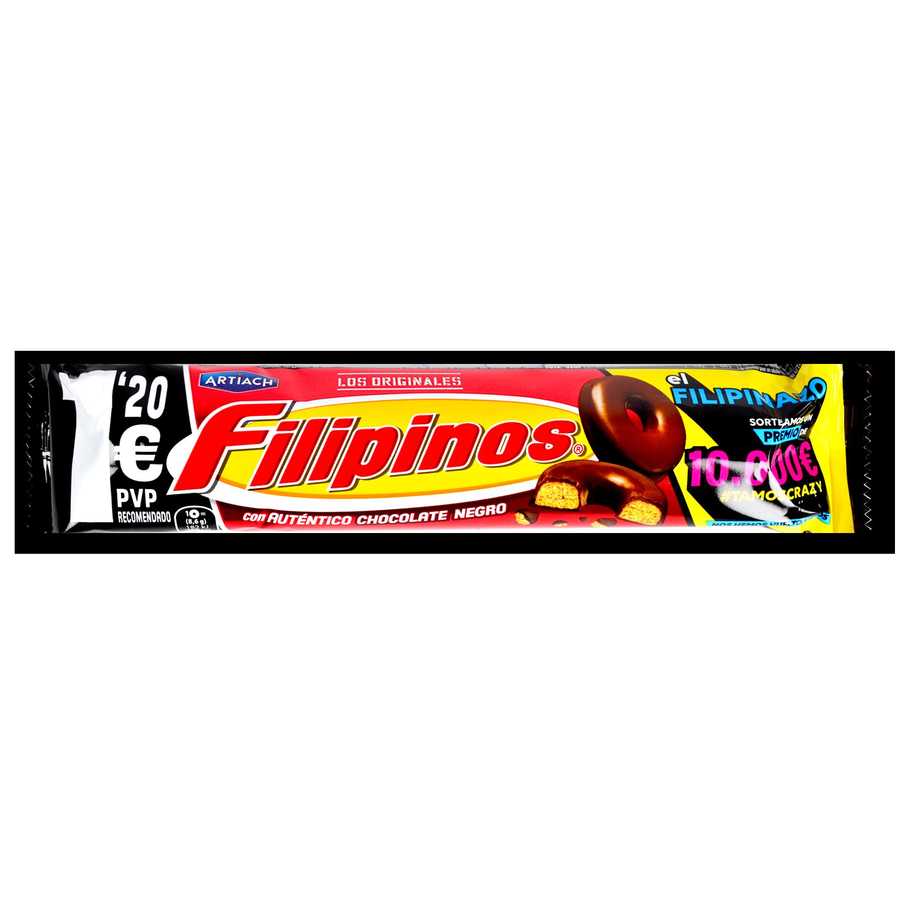 Galetes amb xocolata negra Artiach filipinos