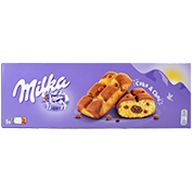 Bescuit garcit de xocolata Milka