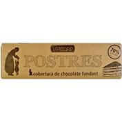 Chocolate negro 70% cacao Torras cobertura fondant