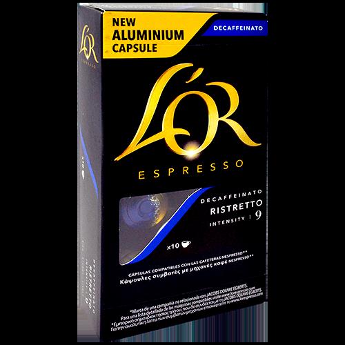 Càpsula de cafè molt Marcilla descaffeinato intens