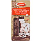Chocolate negro Dulcinea postres culinaria