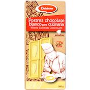 Chocolate blanco Dulcinea postres culinaria