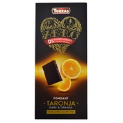 Chocolate fondant con naranja Torras 0% azúcares añadidos