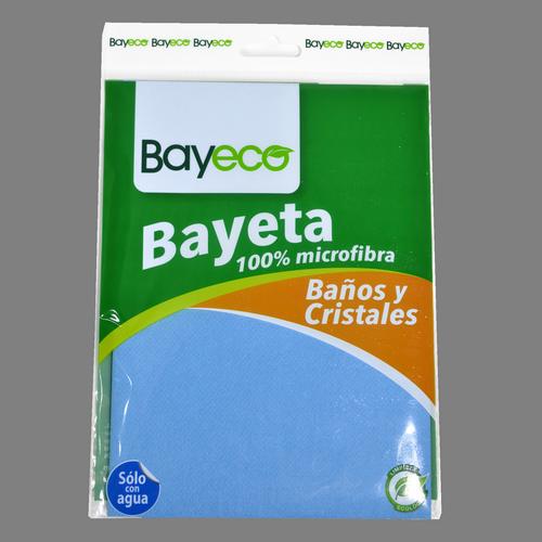 Baieta banys i vidres microfibra Bayeco 40 X 40 cm