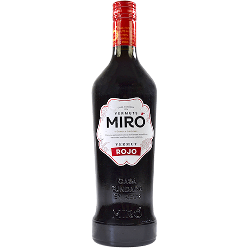 Vermut negre Miró