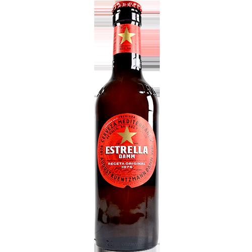 Cervesa Estrella Damm ampolla