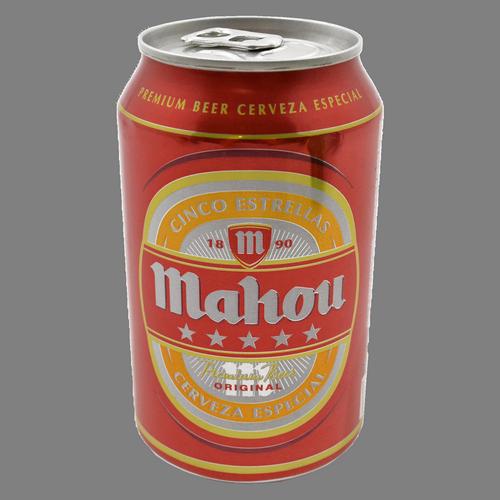 Cervesa Mahou cinc estrelles llauna