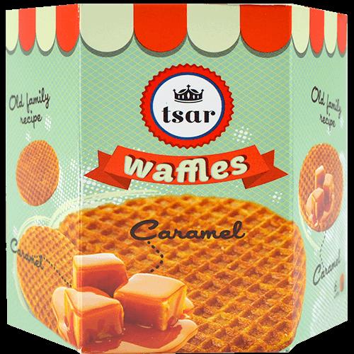 Gofres recepta familiar Tsar caramel