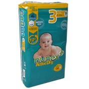 Pañal T/3 Nunex active dry 4-10 kg